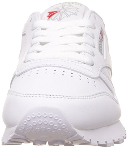 intense Leather Basses White Classic Femme Reebok Baskets Blanc Yqwaa16