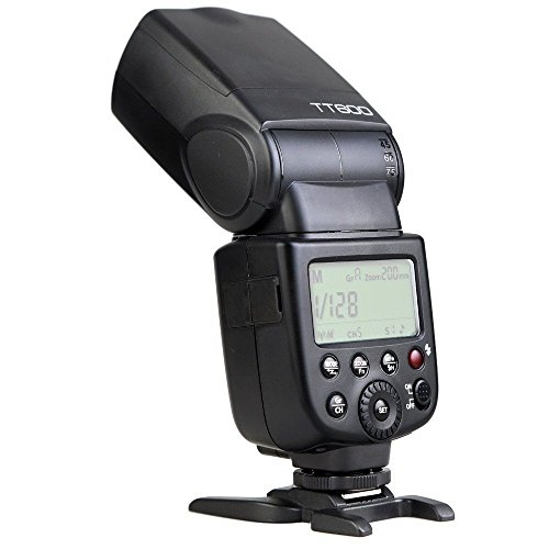 Godox TT600 Flash Speedlite with Built-in 2.4G Wireless Transmission Compatible for Canon,Nikon,Pentax,Olympus and and Other Digital Cameras with Standard Hotshoe+ Diffuser+ CONXTRUE USB LED