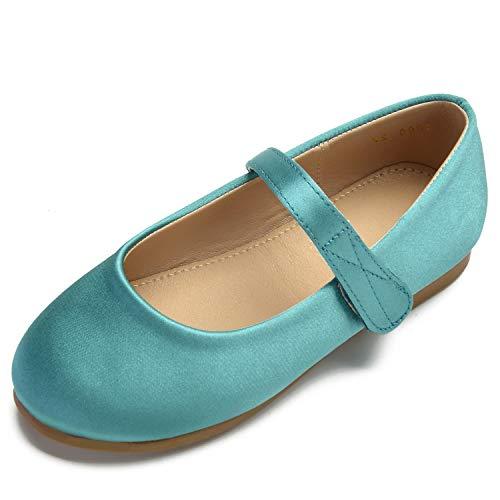 Green Toe Party Closed Shoes Pumps Wedding Buckle Ivory Women Children's Toe Formal Round Platform YC L 1RWUqPwZR