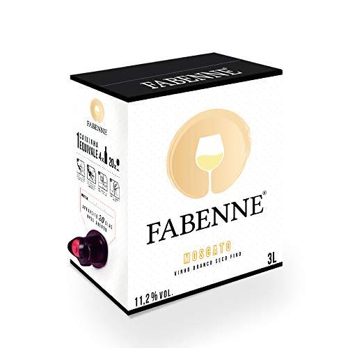 Fabenne Vinho Branco Moscato - Bag-in-Box 3 Litros cada