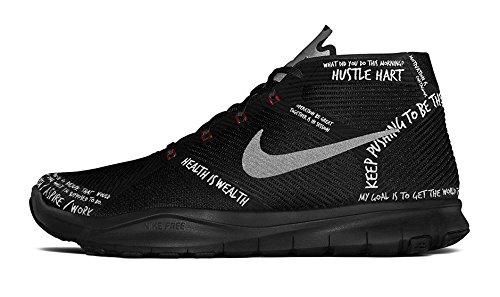 hot sale online 0887e f4d00 Amazon.com   Nike Free Train Instinct HART Kevin HART Black RED SZ Men s  10.5  848416-001    Fashion Sneakers