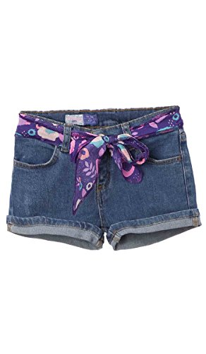 Price comparison product image OFFCORSS Toddler Baby Girl Kid Prime Cute Stretchy Slim Loose Denim Jeans Colored Play Shorts For Summer Ropa Casual de Niña Para Verano Blue 3T