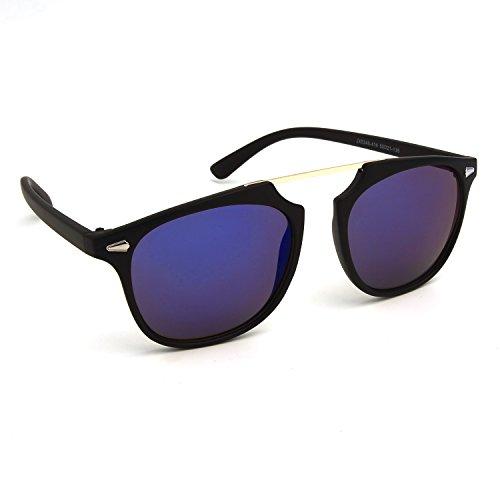 JOOX Large Square Classic Retro Sunglasses For Unisex - Retro Glasses Future