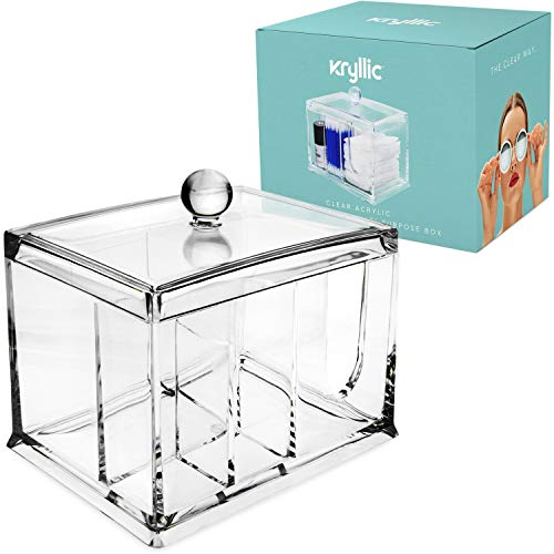 Beauty Supply Storage Box Makeup Cosmetic Drawer Clear Vanit