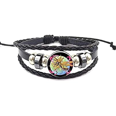 ZUOZUO Leather Wristband For Valentine S Best Friendship Jewelry Black Leather Bracelet Bracelet Jewelry Crystal Gift Estimated Price £16.99 -