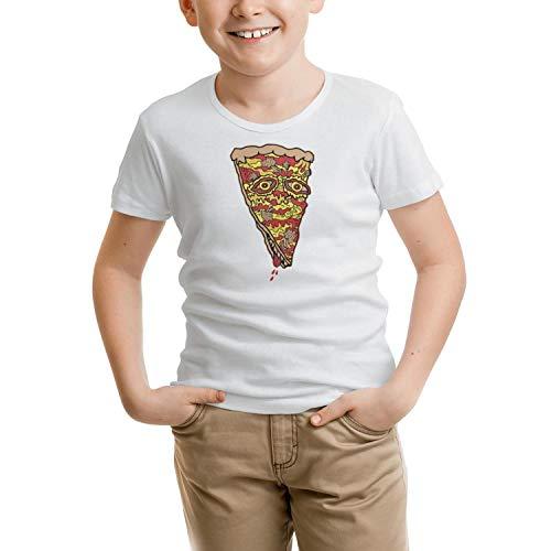 RETYUHG New York mr Pizza Sauce Boys Short-Sleeve t-Shirts Cool