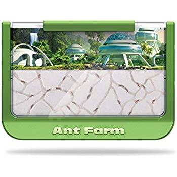Uncle Milton Ant Farm Live Ant Habitat, 60th Ant-iversary Edition, Rainforest Science