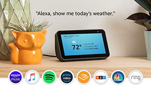 Echo Show 5 - Compact smart display with Alexa