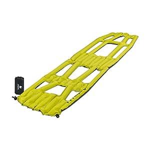 Klymit Aufblasbare Outdoor Campingmatte Luftmatratze Inertia X Frame - Colchón de aire para acampada, color amarillo