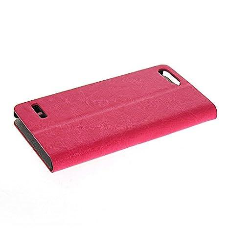 Amazon.com: HYFCASE? Slim Wallet Card Pouch Flip Leather ...
