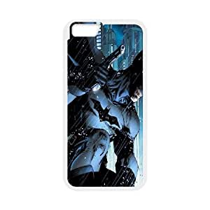 iPhone 6 Plus 5.5 Inch Cell Phone Case White Batman Special Issue Vudkl