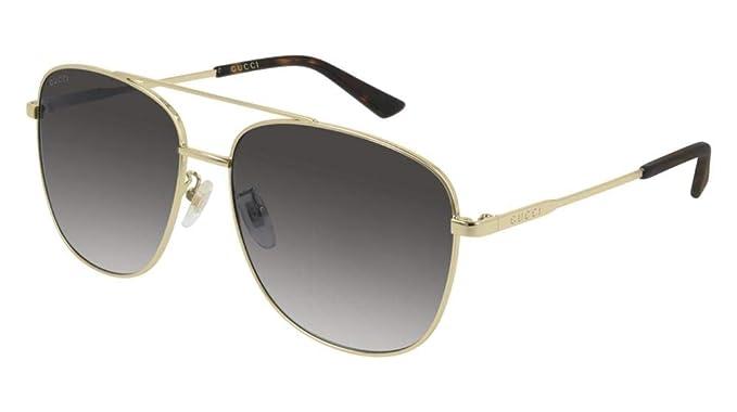 5ca623c4b47 Gucci Herren Sonnenbrille Gold gold  Amazon.de  Bekleidung