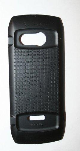 Casio GZone Brigade Verizon Black Standard Back Cover Batter (Casio Cell Phone Covers)