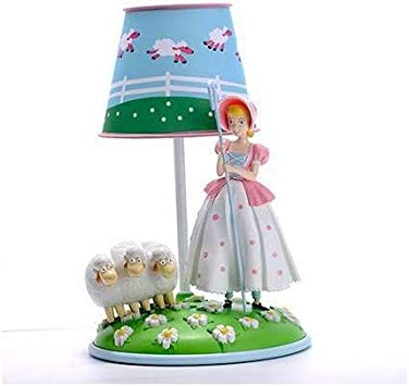 Disney Pixar Toy Story 4 Bo Peep /& Sheep Table Lamp Collectible Figure Doll NEW