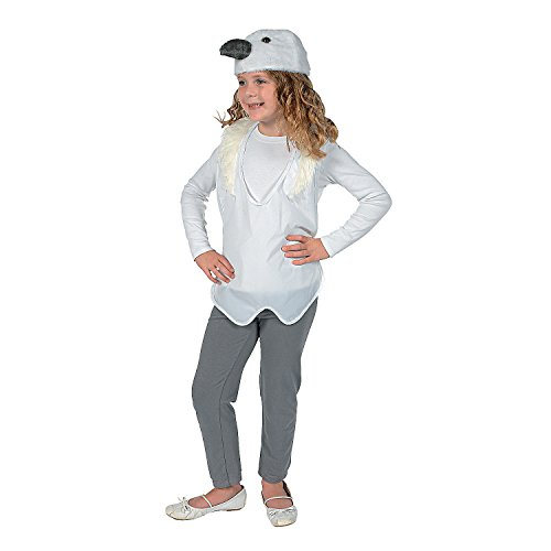 (Fun Express - Dove Vest and Hat - Apparel Accessories - Costumes - Kids - Unisex Costumes - 2)