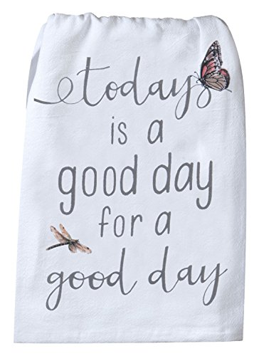 Kay Dee Designs R4109 Handmade Good Day Flour Sack Towel