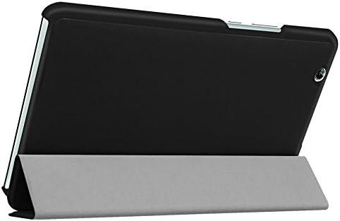 Negro NUEVO Protecci/ón Caja para Huawei MediaPad M3 8.4 Pulgadas Smart Slim Case Book Cover Stand Flip