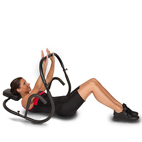 New Year Deal RitFit Ab Roller Evolution Abdominal Machine Exercise Crunch Roller Workout Exerciser