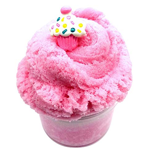 - YMDY Smoothie Slime with Strawberry and Birthday Cake Charms, Scented Cloud Slime Snow ICEE Slime Stress Relief Toy for Girls and Boys (8oz)