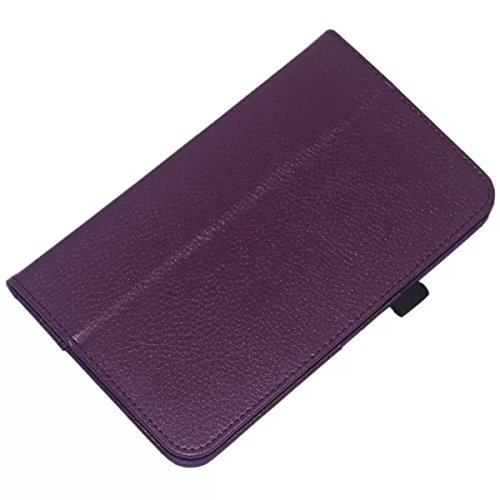 Samsung Galaxy Tab 3 8inch Case,Samsung Tab 3 SM-T310 Case,Beebiz Ultra Slim Lighted PU Leather Case Cover with Stand Case for SamsungTab 3 8 Inch Case,Purple