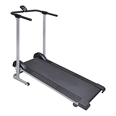 Anself Folding Manual Running Machine Cardio Fitness