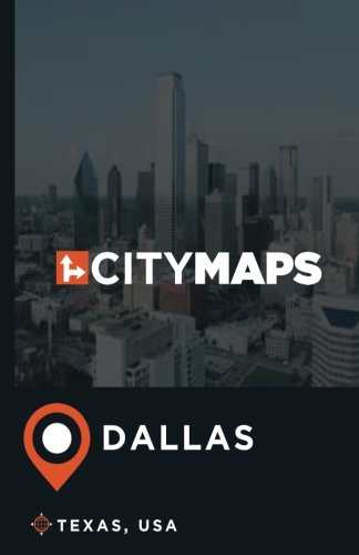City Maps Dallas Texas, USA