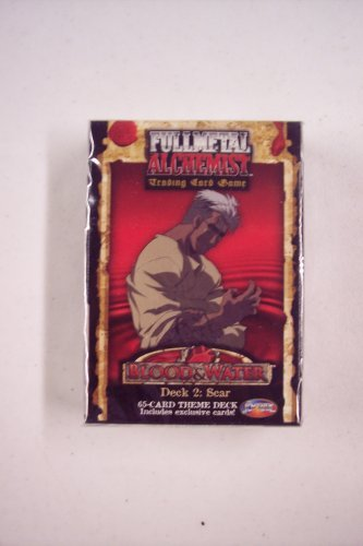 - Fullmetal Alchemist Blood and Water Trading Card Game Theme Deck 2 Scar