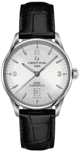 Certina - Wristwatch, Analog Automatic, Leather, Man 1