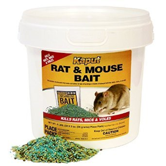 Kaput Rat Mouse Vole Bait - 150 Place Packs 61225 by Kaput