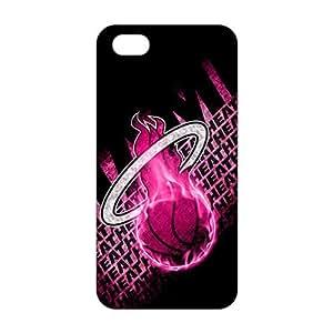 Fortune 3D Case Cover NBA Heat Phone Case For Sam Sung Galaxy S4 Mini Cover