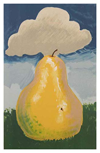 - JH Lacrocon Poired Erik Satie by Man Ray Handpainted Reproduction - 40X60 cm(ca. 16X24 inch) Still Life Paintings Canvas Wall Art Unmounted for Living Room