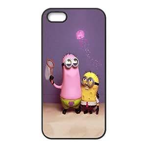 Sponge Bob Wallpaper iPhone 4 4s Cell Phone Case Black Protect your phone BVS_724825