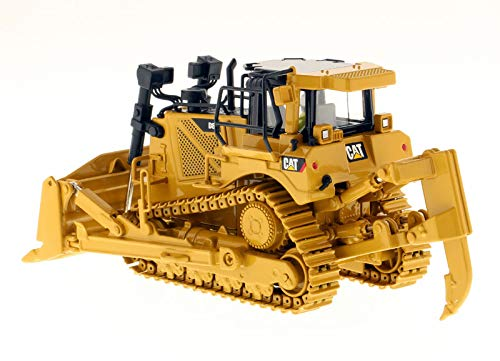 CAT Caterpillar D8T Track Type Tractor with Single Shank Ripper with Operator Core Classics Series 1/50 Diecast Model by Diecast Masters 85299