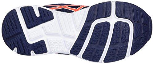 Asics Gel-Zaraca 5 PS, Zapatillas de Entrenamiento Unisex Bebé Azul (Indigo Blue/flash Coral/white)