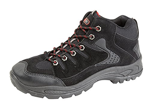 MENS BOYS HIKING BOOTS WALKING ANKLE TREKKING TRAIL TRAINERS SHOES UK 6 - 12 1dopEB2