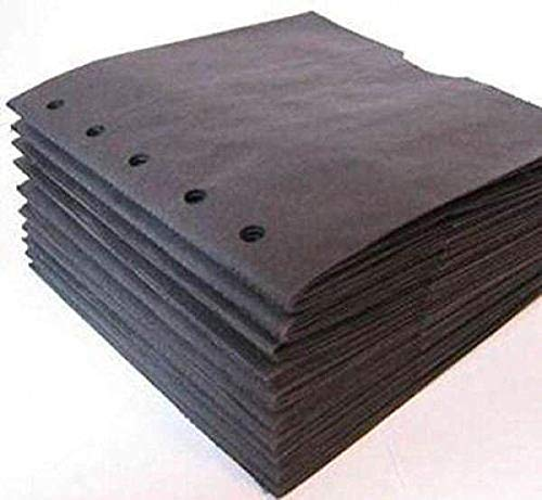 BLACK 6X6 SEWN paper bag scrapbook albums 10 books