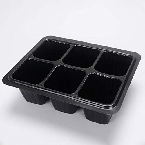 Plastique Bo/îte Plateau Seedling Nursery cas plateaux pour semis d/émarrage Germination usine Outils de jardinage plantes