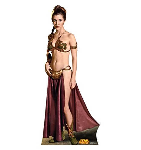 [Princess Leia - Star Wars Classics Retouched - Advanced Graphics Life Size Cardboard Standup] (Star Wars Princess Leia Slave)