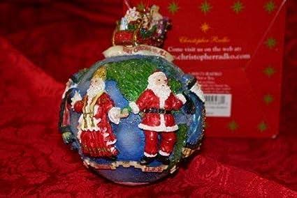 Christopher Radko Santas Around The World Hanging Ornament