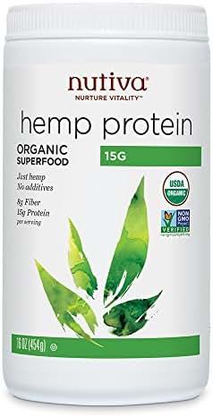 Nutiva Hemp Protein Powder, Organic, (50% Protein)