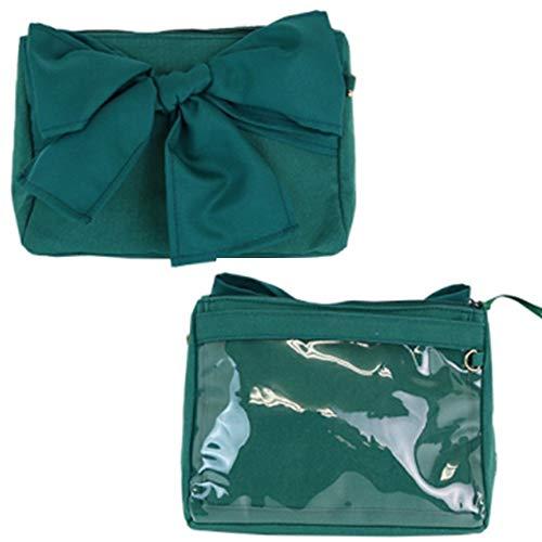 Green Pochette - Ita bag for big ribbon 2way pochette (Green)