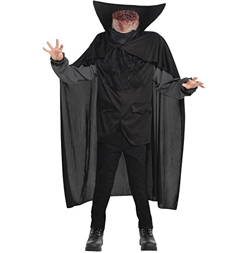 AMSCAN Blood Headless Horseman Costume for Boys, -