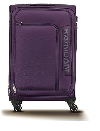 b336ac5f074 kamiliant american touristor Polyester 58 cm Purple Trolley Bag ...