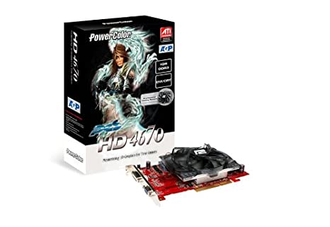 Amazon.com: PowerColor ATI Radeon HD4670 1 GB DDR3 DVI AGP ...