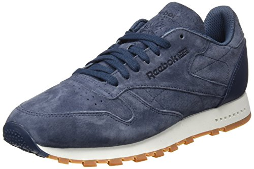 Classic smoky Indigo Multicolore Reebok Basses Sneakers Chalk Leather gum Sg Homme BwqCqUxZ