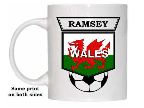Aaron Ramsey (Wales) Soccer Mug