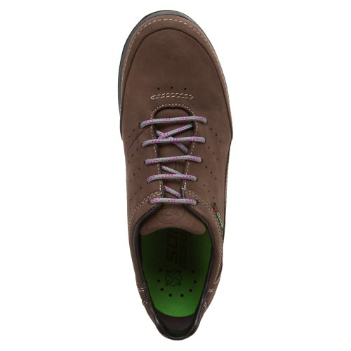 Sneaker Lace Up Women's Pewter Nubuck MEPHISTO qRSvOHwP