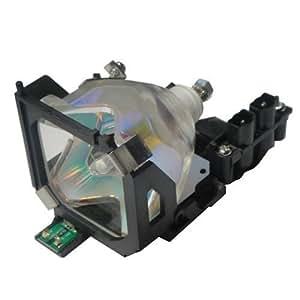 Alda PQ Premium, Lámpara de proyector para EPSON EMP-703C Proyectores, lámpara con viviendas