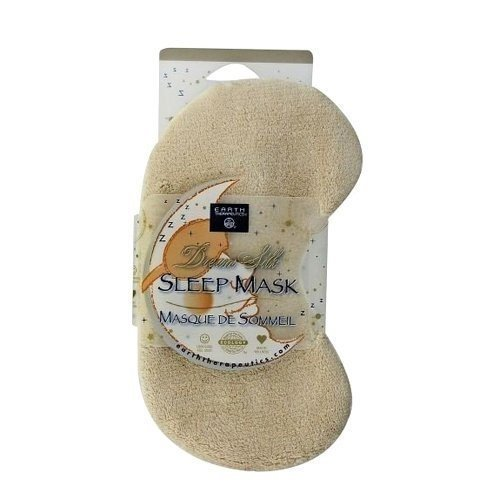 Earth Therapeutics Earth Ther Dream Silk Sleep Mask Tan by Earth Therapeutics