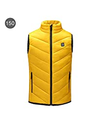 Electric Heating Vest Kid's Heated Jacket Sleeveless USB Charge Warm Body Breathable Lightweight Coat Clothing Adjustable for Outdoor Hiking Hunting Motorcycle Camping